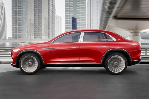 迈巴赫Ultimate Luxury官图发布 奢华设计/2018北京车展亮相