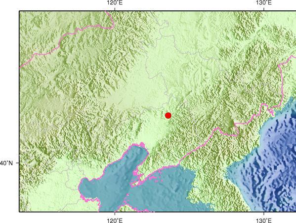 9月23日21时22分辽宁铁岭市调兵山市(矿震)发生2.9级地震