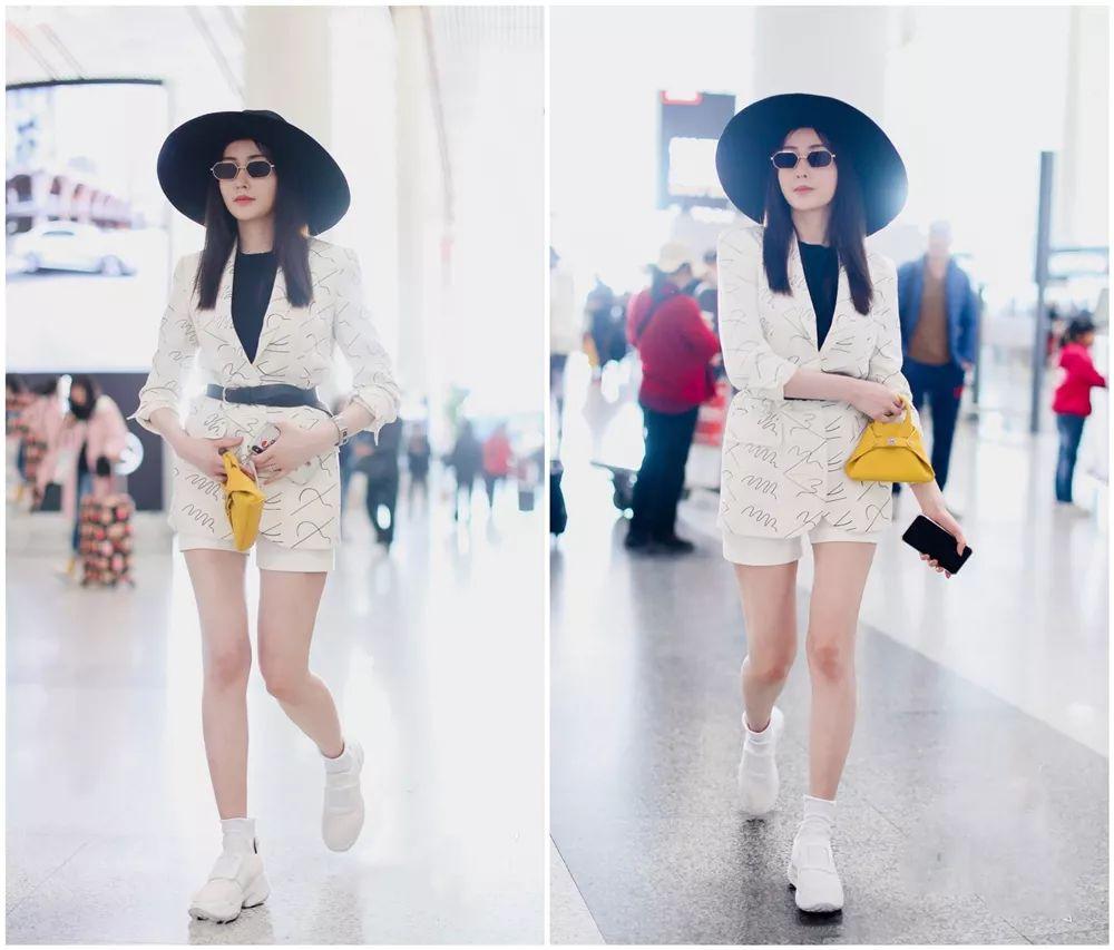 穿搭红黑榜,奚梦瑶高调挑战健美裤造型,阿娇高颜值因衣品拖后腿