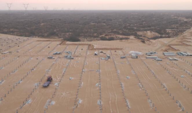 央视调查:华能陕西建光伏电站 砍沙漠10万棵树?
