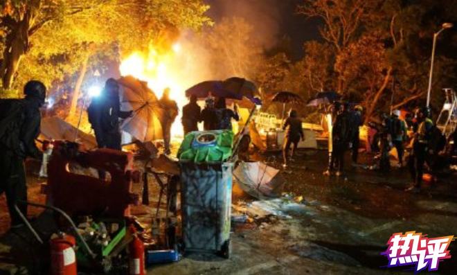 西方媒体称香港暴徒是丑陋的开端 央视发文评论