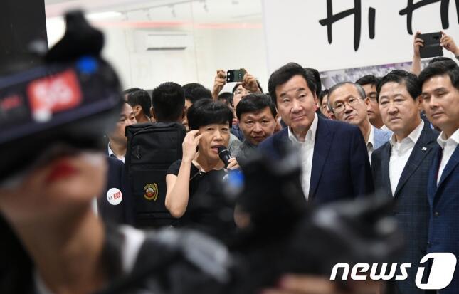 韩总理观战朝韩联队亚运会比赛 赛后将会印尼总统