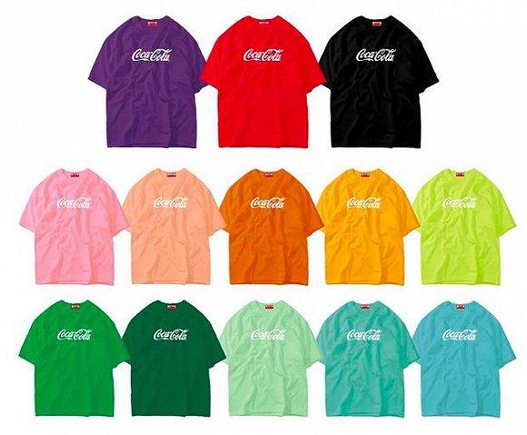彩色可乐T恤