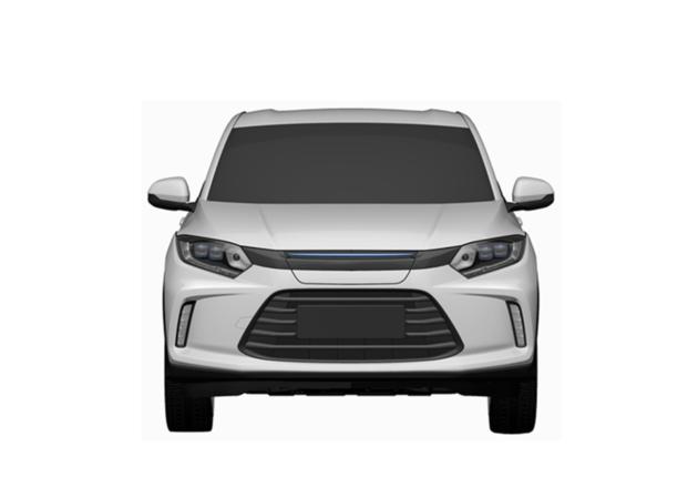 广汽理念电动车量产版专利图曝光 将于广州车展亮相