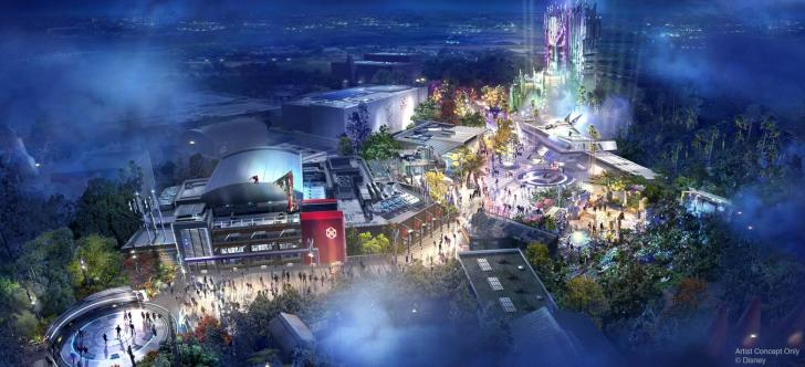 迪斯尼将建两座复仇者联盟主题公园 相关渲染图公布