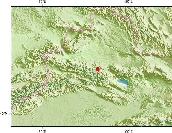 8月18日7时43分新疆昌吉州呼图壁县发生4.8级地震
