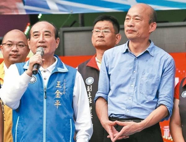 """去年""""九合一选举""""时,王金平帮韩国瑜助选"""