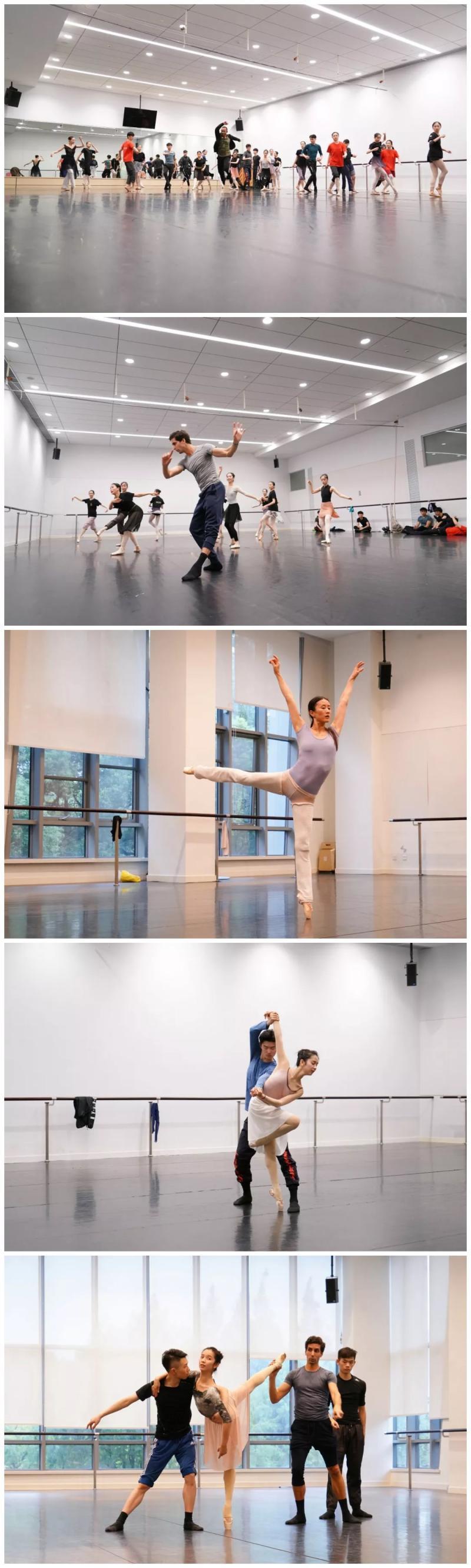 无人知晓的思绪,记录记忆的影子,被两国艺术家变成足尖上的舞蹈