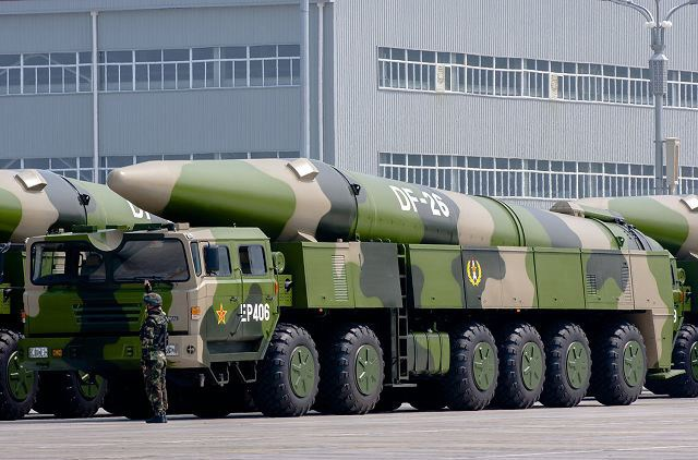 RS-26可能与中国东风-26规格相似