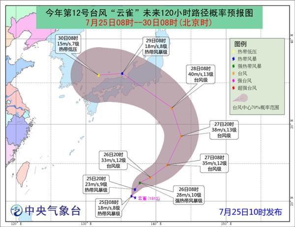 """台风""""悟空""""和""""云雀""""未来对我国海域无影响"""