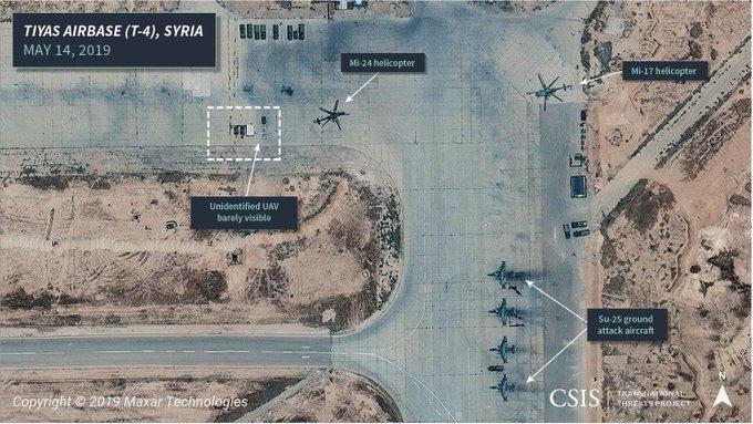 道利亚T-4基天的苏-25 图源:CSIS