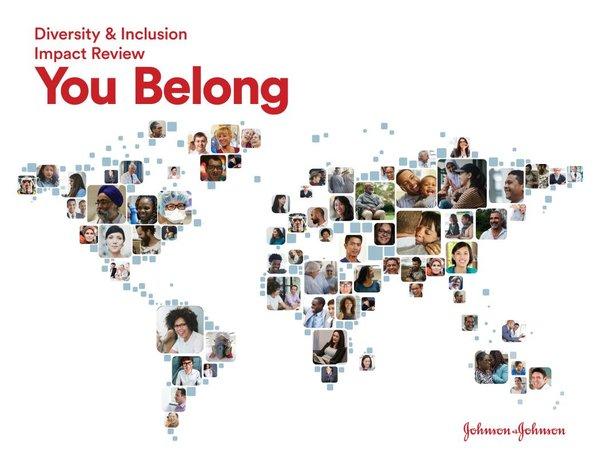 强生发布首份《归属感:多元化和包容性影响力报告》 | 美通社