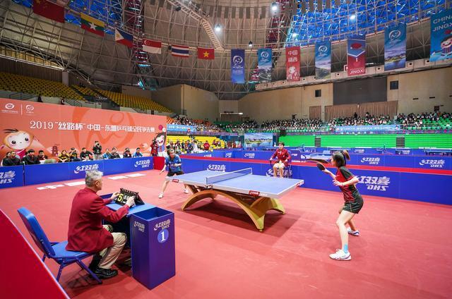 中国-东盟乒乓球全民争先赛落幕10至75岁选手同台