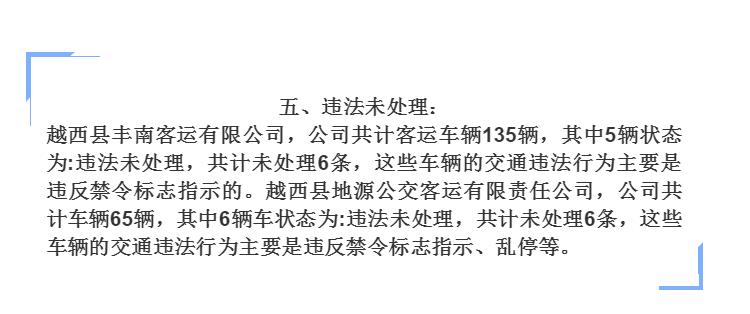 """违法曝光平台:凉山州9月最新交通事故客货运企业""""红黑榜"""""""