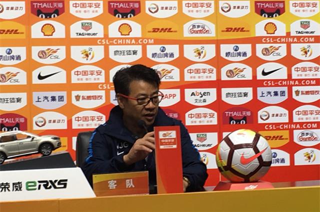 吴金贵赞瓜林谢球迷 有一点过去10个客场不曾做到