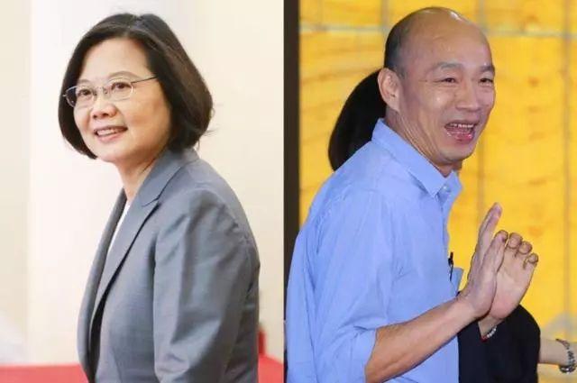 选战倒数3个月,蔡英文韩国瑜揭两岸政策底牌