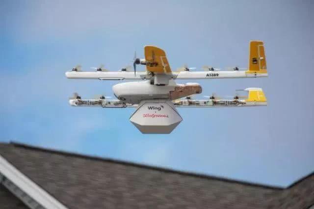 谷歌成功完成全球首个商用无人机递送服务