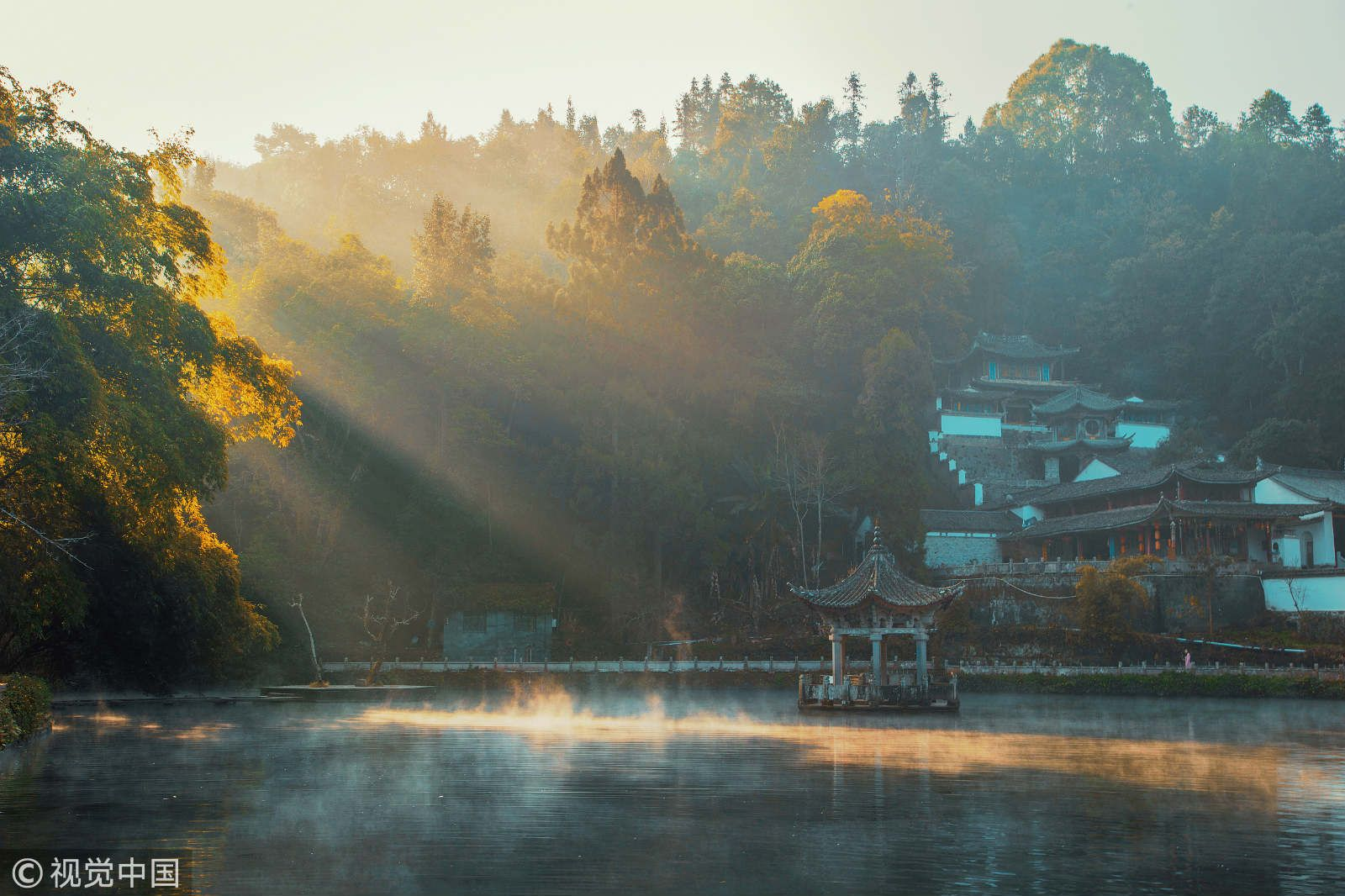 云南和顺,图片来源:视觉中国。