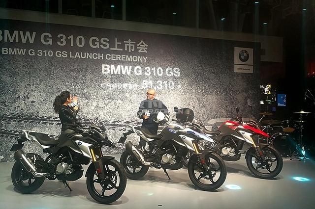 宝马G 310 GS正式上市 售价5.131万元起