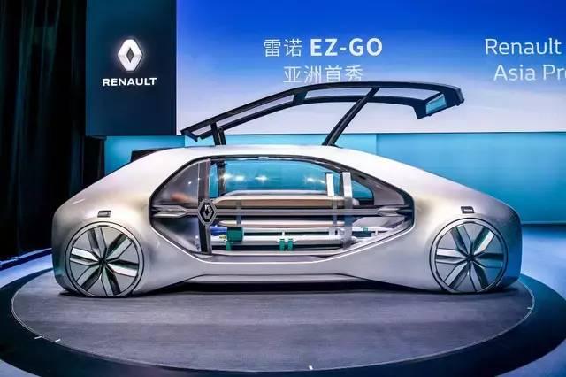 汽车商报 | 雷诺EZ-GO亚洲首秀 展示未来都市共享出行