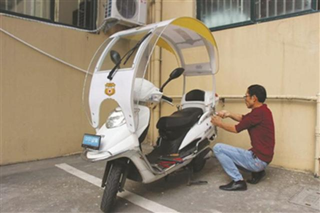 这个路桥人研制的电动车安全保护装置获国家实用新型专利