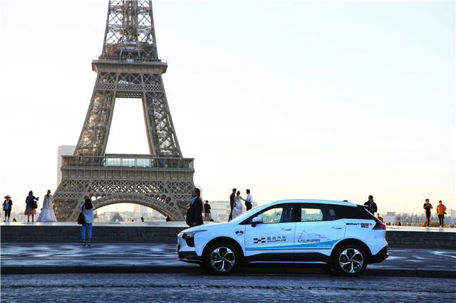 横穿12个国家,爱驰汽车成功挑战吉利斯纯电动驾驶距离纪录