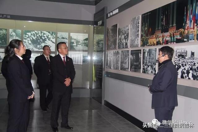 高新检察院组织党员参观吉林市劳工纪念馆