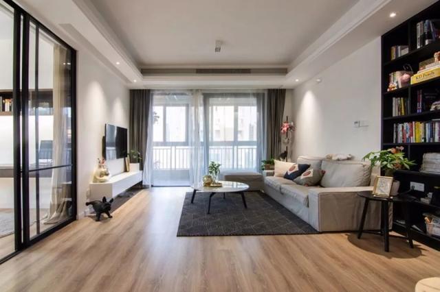 媳妇花15万元就把118平米的房子装修好了,大家觉得怎么样?-华洲城·云顶装修