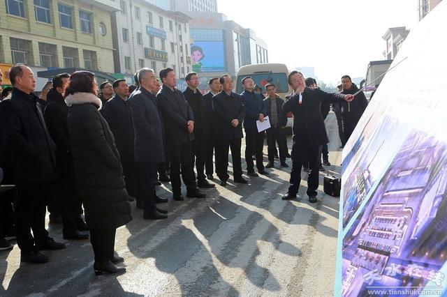 王军市长率队在麦积区和开发区检查观摩重点项目