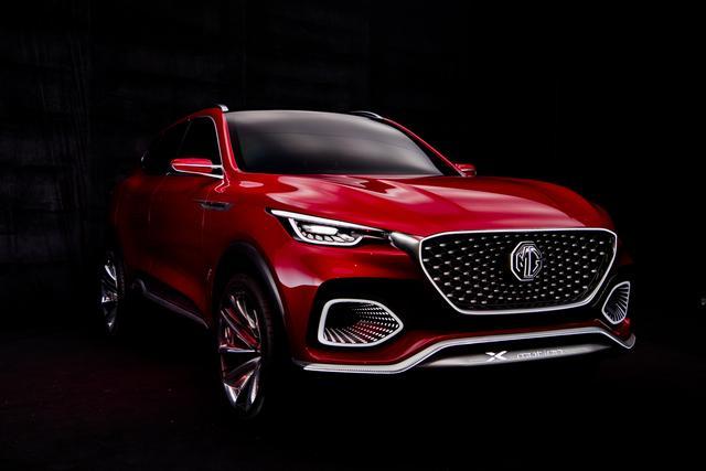motion概念车全球首秀,MG名爵携多款重磅车型亮相北京车展