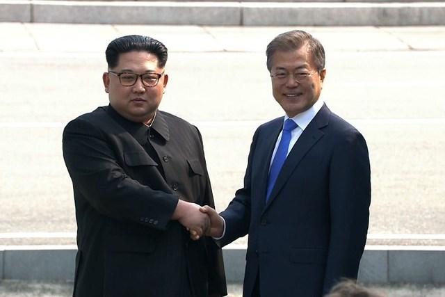 朝韩领导人板门店会晤