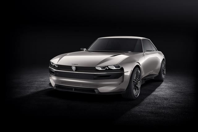 古典与现代的碰撞 标致E-Legend概念轿跑官图发布