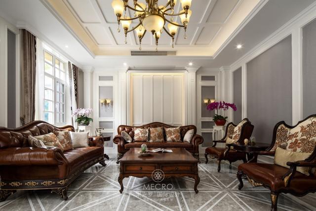 第三套房装修我喜欢的风格都想要体现,中海独墅岛欧式混搭实景
