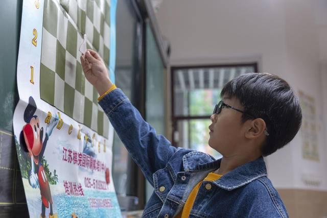 国际象棋在金陵中学河西分校开课啦
