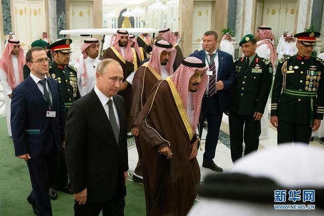俄罗斯总统普京访问沙特