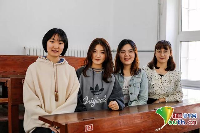 """""""学霸寝室""""4女生全保研:获近7万奖学金 3年上课坐第一排"""