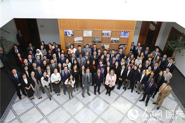中国青年代表团与摩洛哥外交学院师生举行座谈