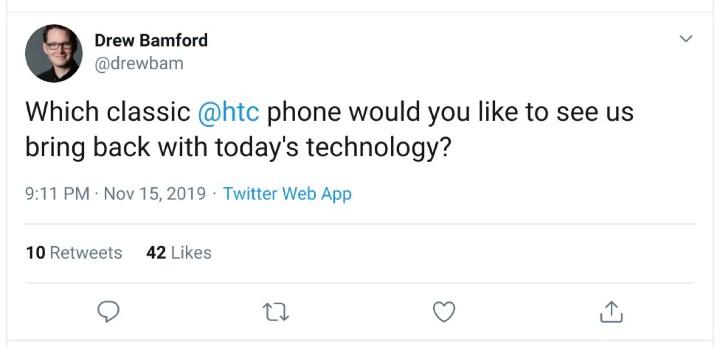 HTC要打情怀牌?有意推出经典复刻手机