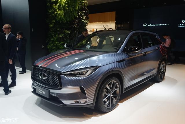 北京车展:全新英菲尼迪QX50预售35万起