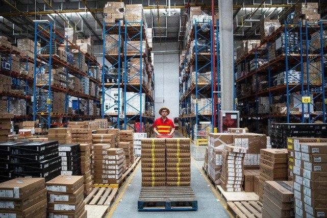 618京东云仓日均订单处理能力猛涨500%,物流服务效果倍增