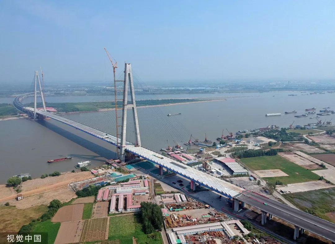▲武汉青山少江公路年夜桥