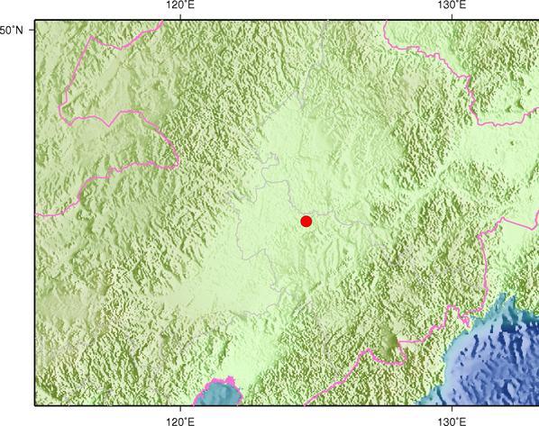5月31日13时0分吉林松原市宁江区发生3.6级地震