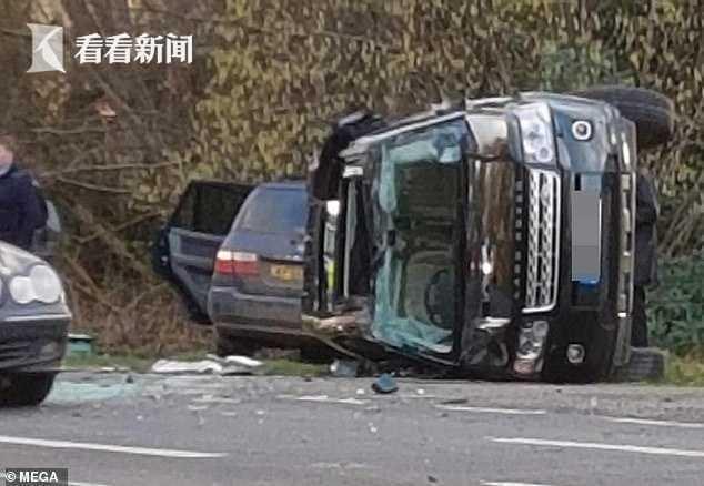 英女王丈夫撞车免遭起诉:起诉他不符合公众利