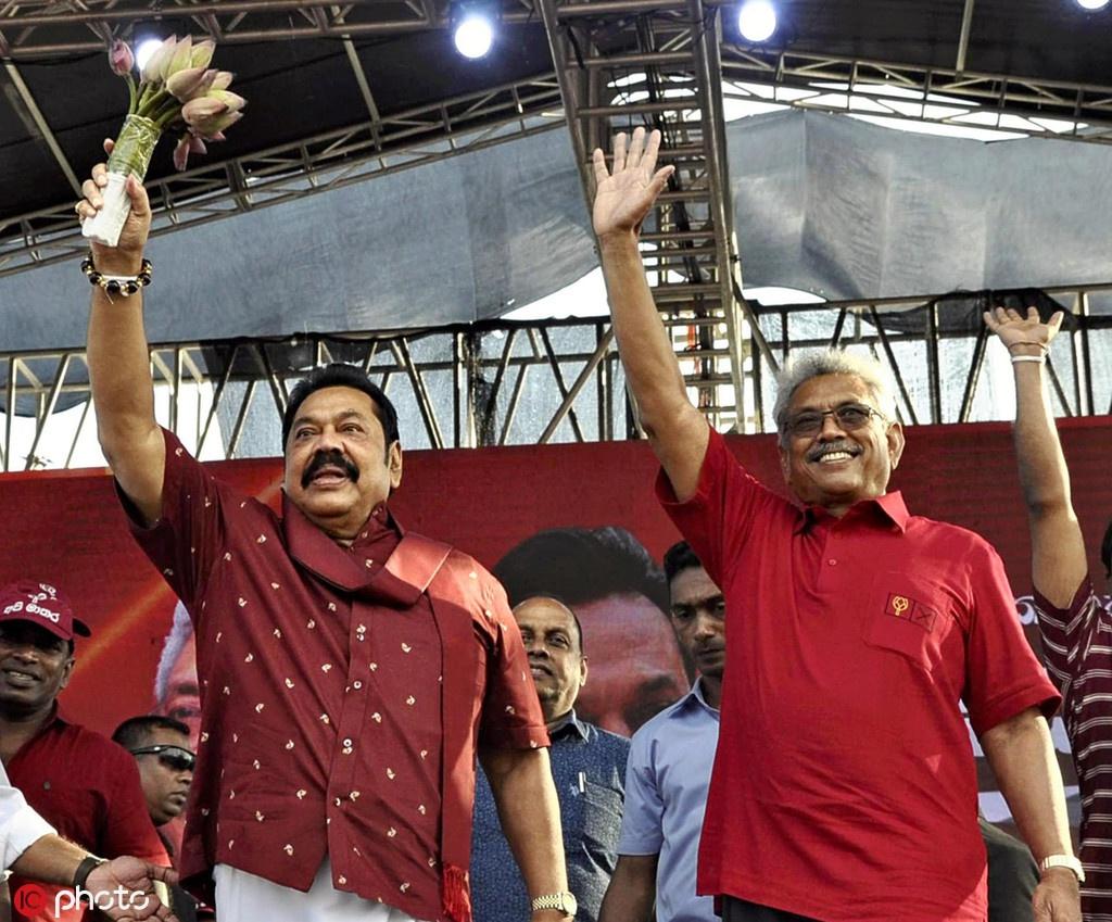斯里兰卡新总统任命胞兄为总理 外媒:亲华政府回归