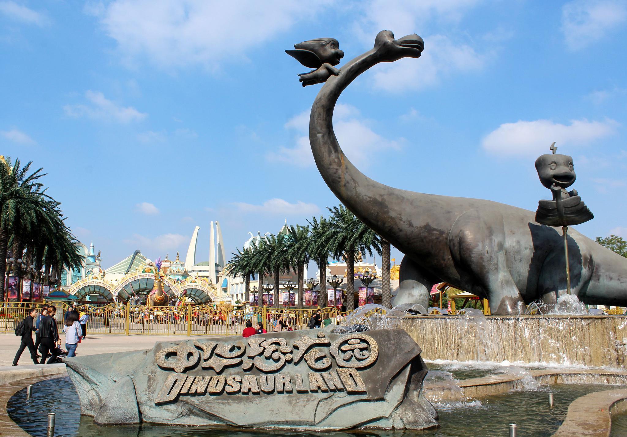 中华恐龙园:恐龙主题占优势,主打模块化发展