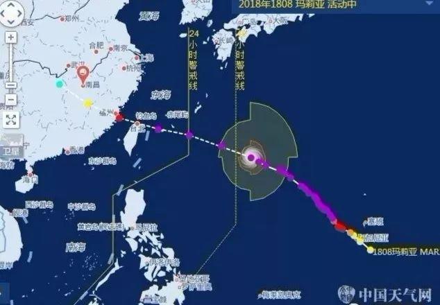 """超强台风""""玛莉亚""""来袭!湘东湘北有暴雨和雷暴大风"""
