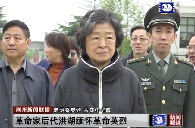 贺龙元帅之女贺晓明