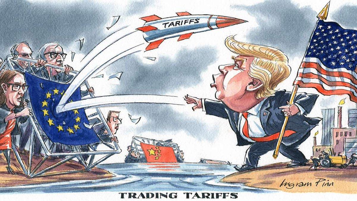 特朗普放狠话欧美贸易战升级?上半年收官战本周打响!