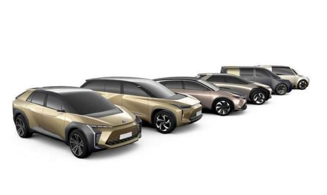 丰田和雷克萨斯或将在2021年推出三款电动汽车