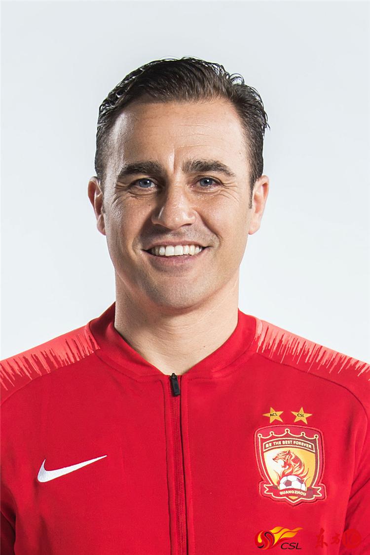 主教练:法比奥·卡纳瓦罗 fabio cannavaro